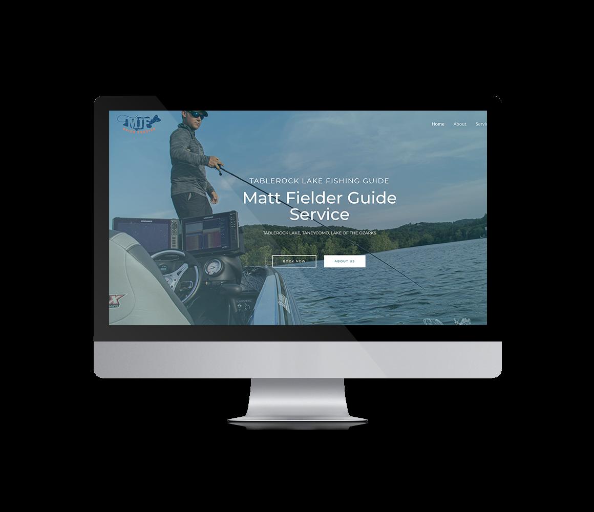 Fishing Guide Website